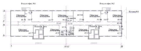 План цокольного этажа жилого дома Владимирская-3в